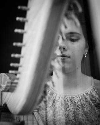 Adel Wilson - Harpist, Vocalist
