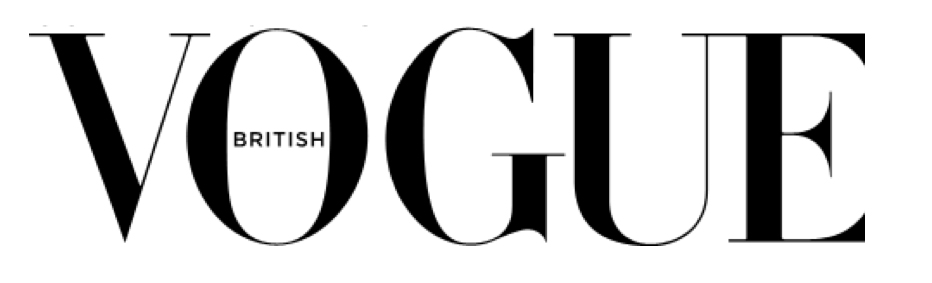 British Vogue Logo white background